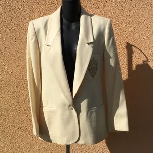 Saks Fifth Avenue 100% Wool Blazer